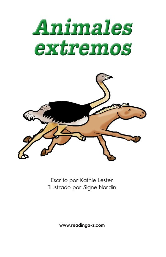 Book Preview For Extreme Animals Page 2