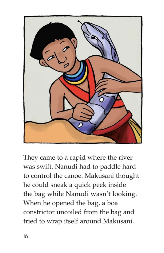Book Preview For Makusani's Lesson Page 16