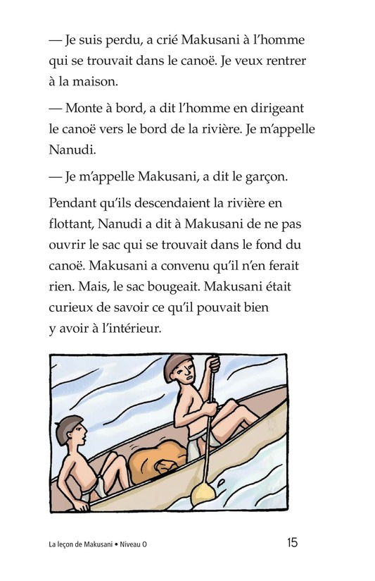 Book Preview For Makusani's Lesson Page 15