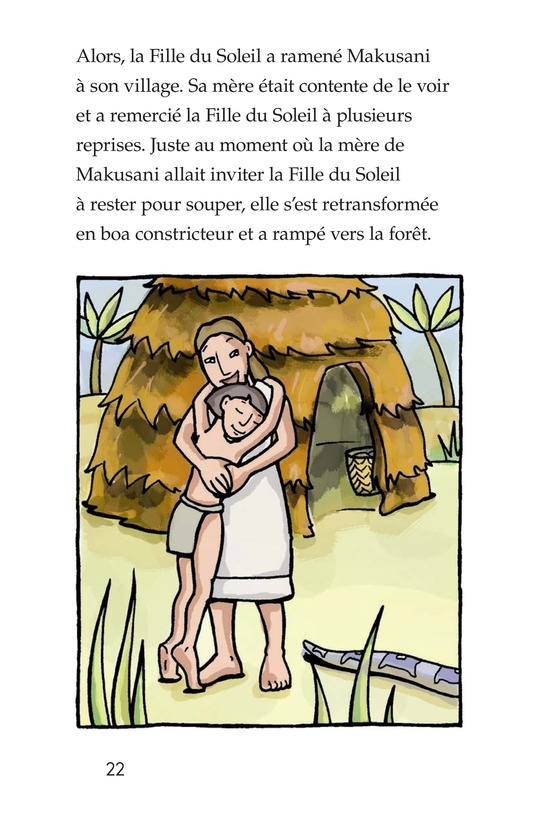 Book Preview For Makusani's Lesson Page 22