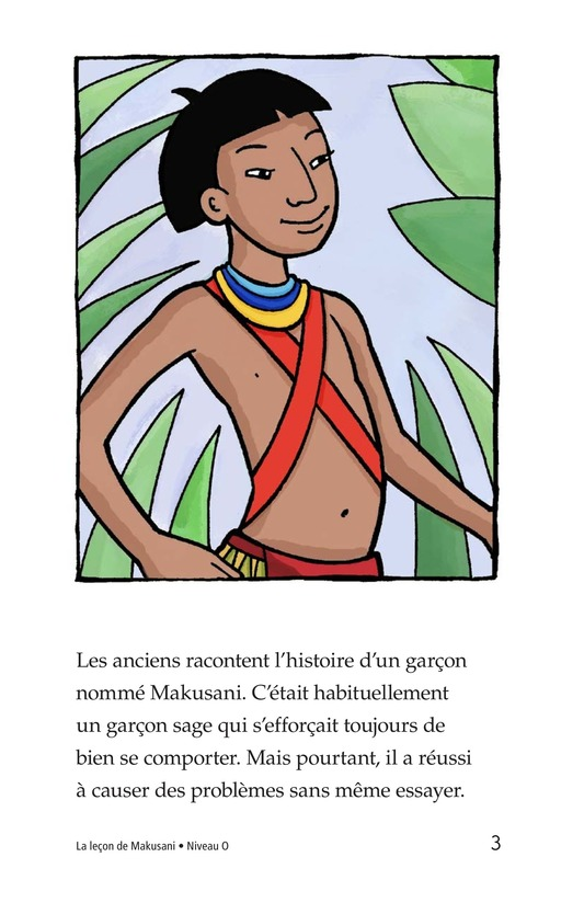 Book Preview For Makusani's Lesson Page 3