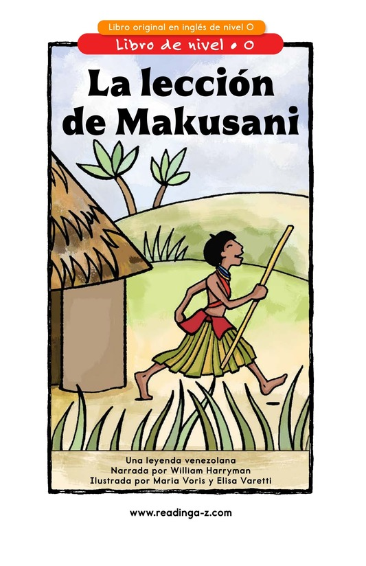 Book Preview For Makusani's Lesson Page 1