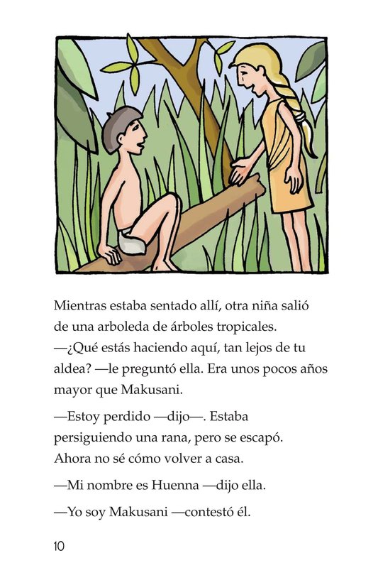 Book Preview For Makusani's Lesson Page 10