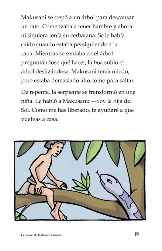 Book Preview For Makusani's Lesson Page 19