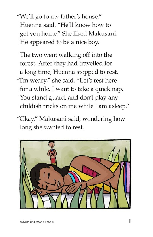 Book Preview For Makusani's Lesson Page 11