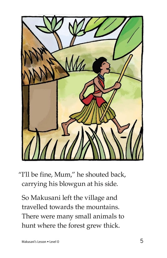 Book Preview For Makusani's Lesson Page 5