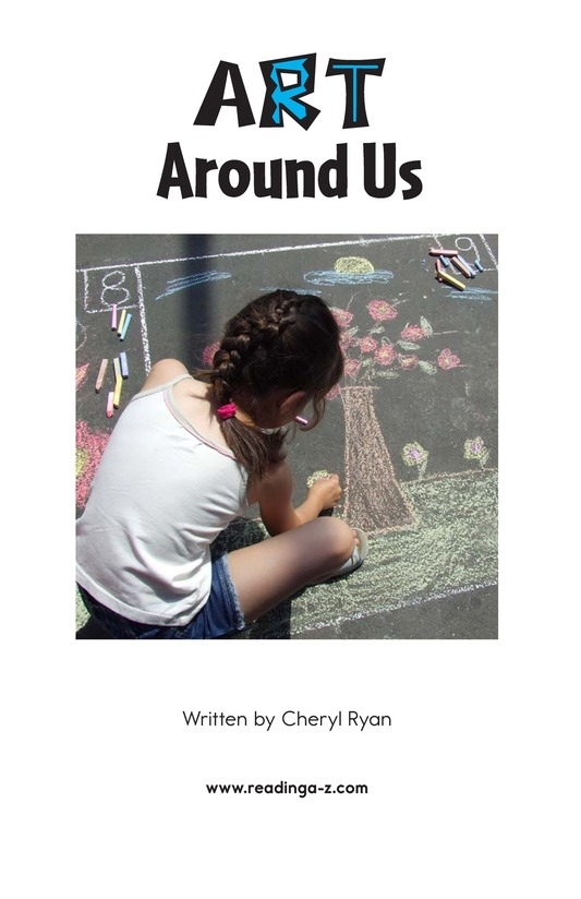 Book Preview For Art Around Us Page 2