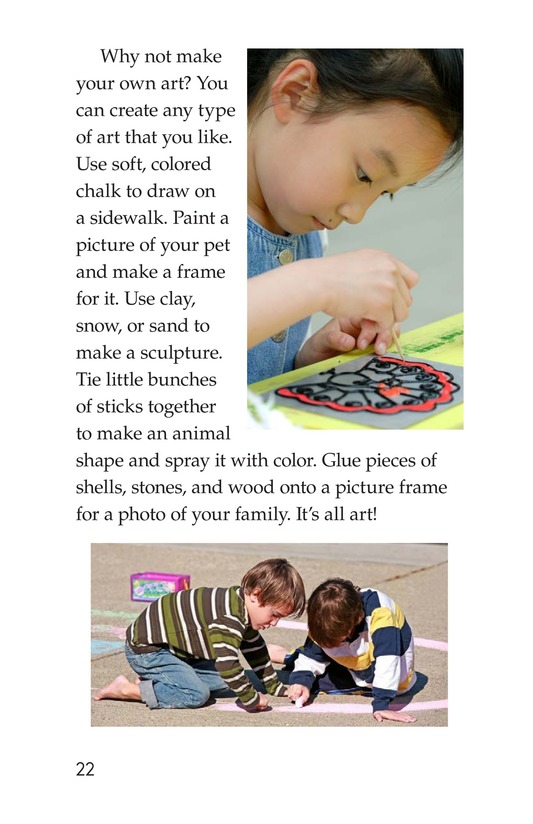 Book Preview For Art Around Us Page 22