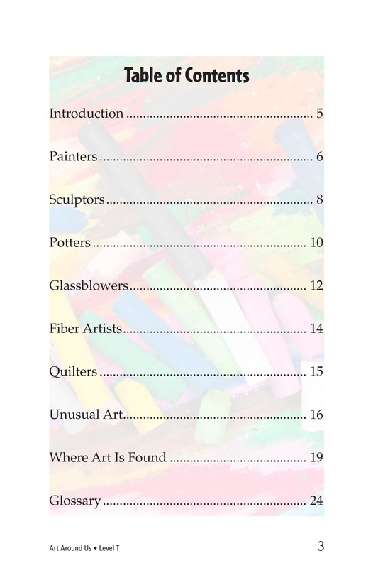 Book Preview For Art Around Us Page 3