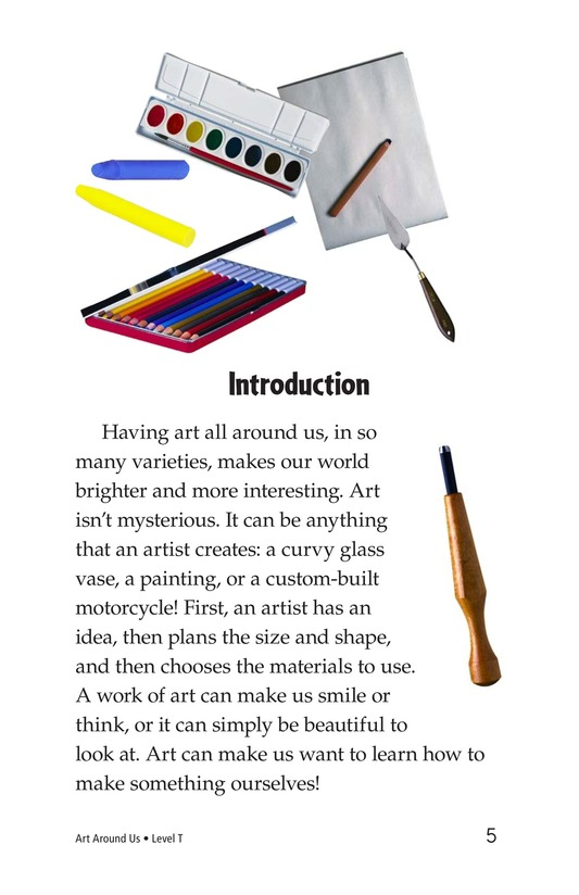 Book Preview For Art Around Us Page 5