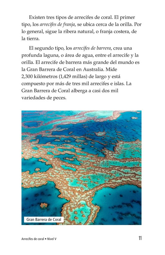 Book Preview For Coral Reefs Page 11