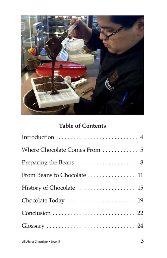 Book Preview For All About Chocolate Page 3