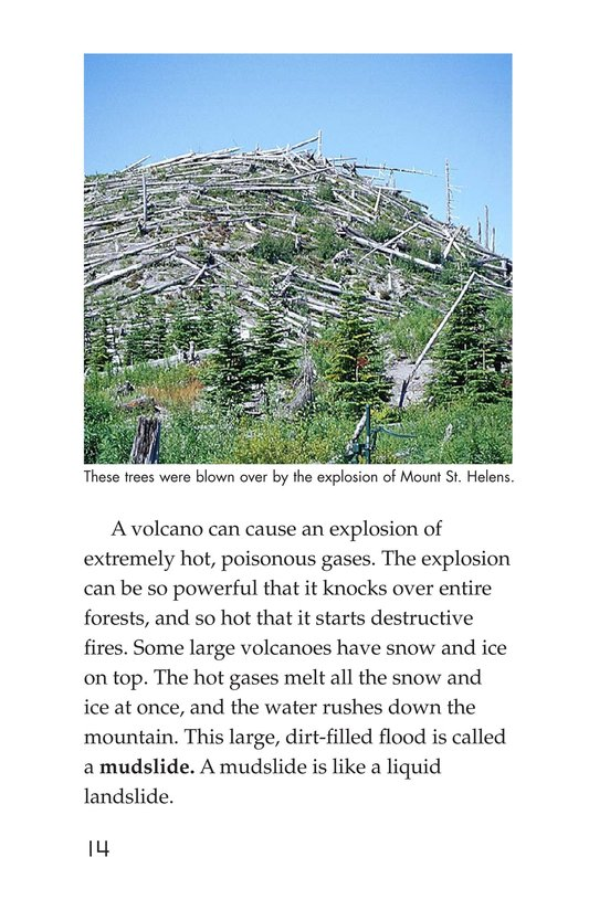 Book Preview For Earthquakes, Volcanoes, and Tsunamis Page 14