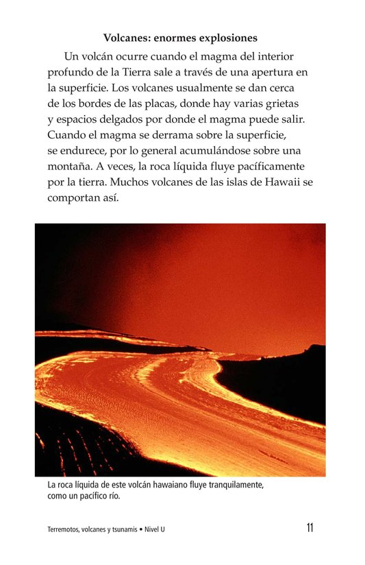 Book Preview For Earthquakes, Volcanoes, and Tsunamis Page 11