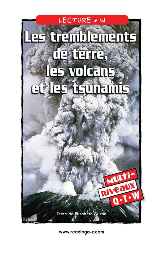 Book Preview For Earthquakes, Volcanoes, and Tsunamis Page 1