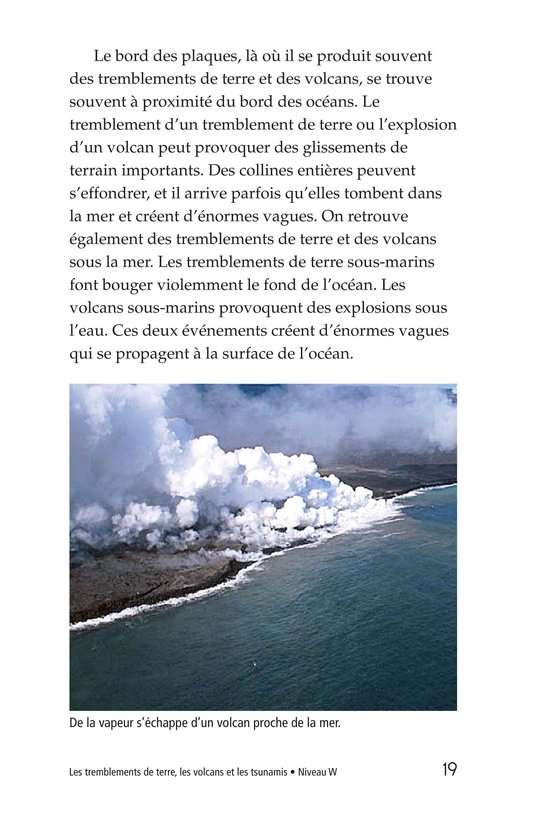 Book Preview For Earthquakes, Volcanoes, and Tsunamis Page 19