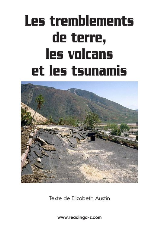 Book Preview For Earthquakes, Volcanoes, and Tsunamis Page 2