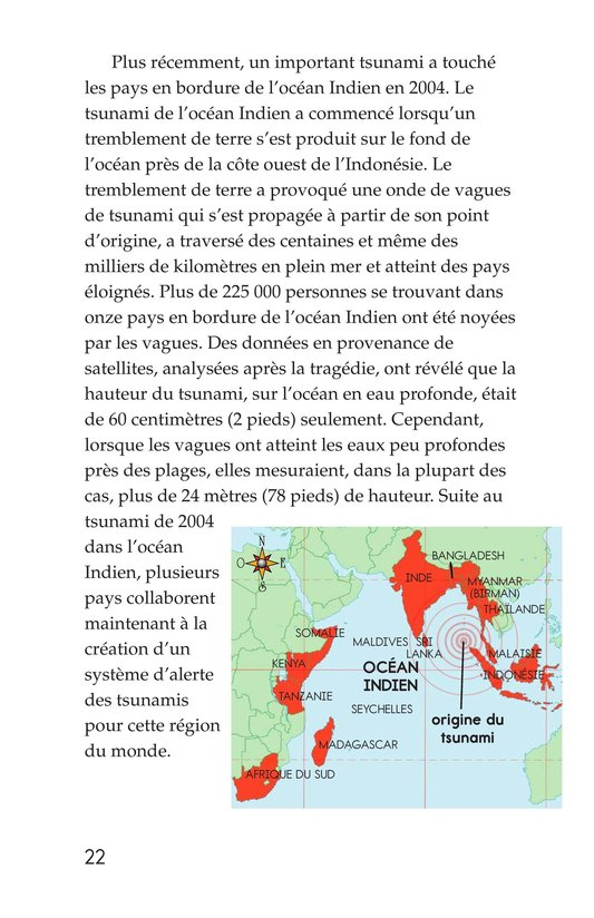 Book Preview For Earthquakes, Volcanoes, and Tsunamis Page 22
