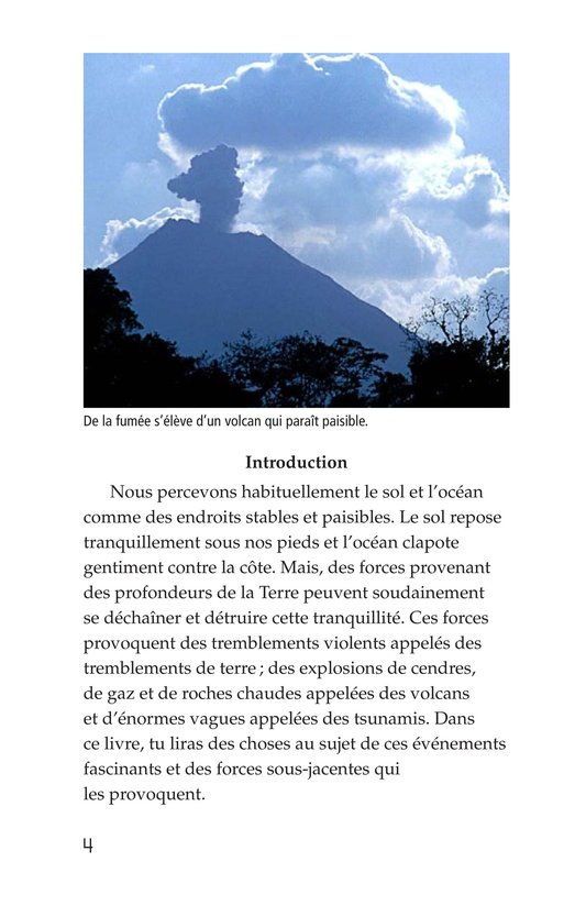 Book Preview For Earthquakes, Volcanoes, and Tsunamis Page 4