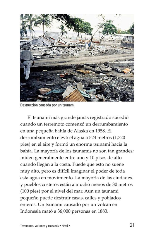 Book Preview For Earthquakes, Volcanoes, and Tsunamis Page 21