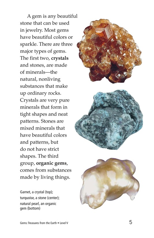 Book Preview For Gems: Treasures from the Earth Page 5
