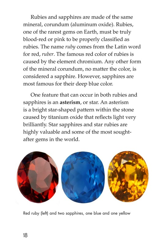Book Preview For Gems: Treasures from the Earth Page 18