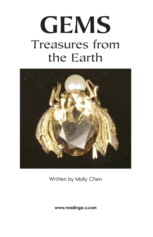 Book Preview For Gems: Treasures from the Earth Page 2