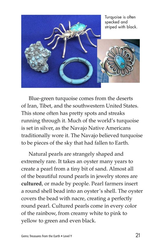 Book Preview For Gems: Treasures from the Earth Page 21