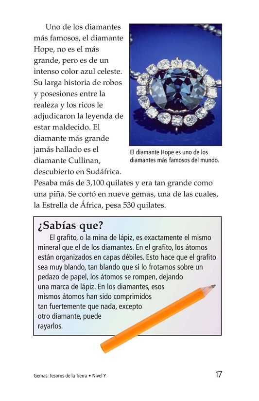 Book Preview For Gems: Treasures from the Earth Page 17