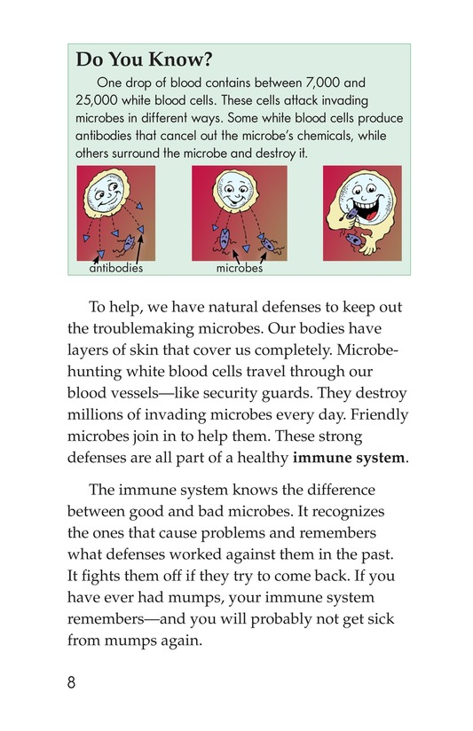 Book Preview For Microbes: Friend or Foe? Page 8