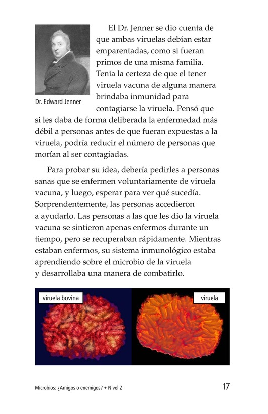 Book Preview For Microbes: Friend or Foe? Page 17