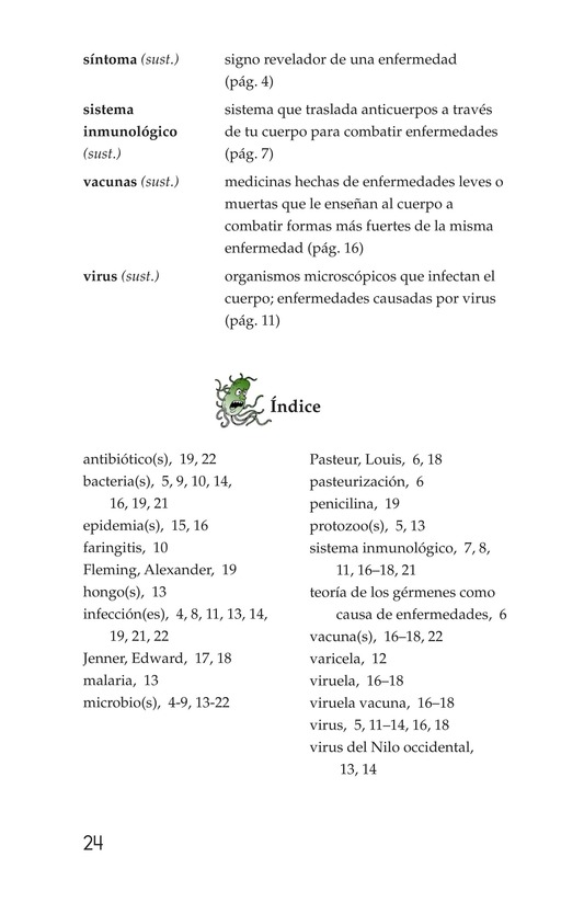 Book Preview For Microbes: Friend or Foe? Page 24