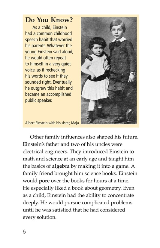 Book Preview For Albert Einstein Page 6