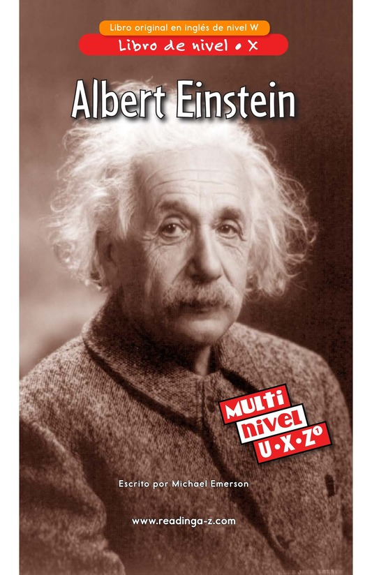 Book Preview For Albert Einstein Page 1