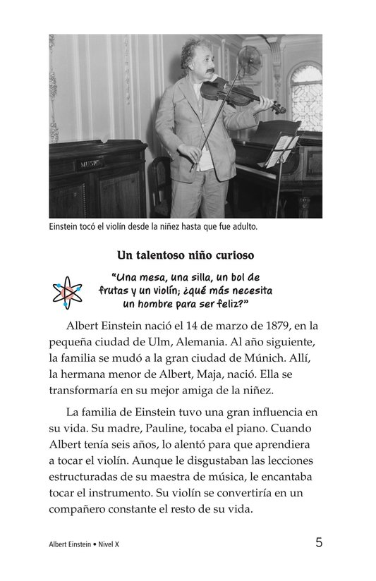 Book Preview For Albert Einstein Page 5