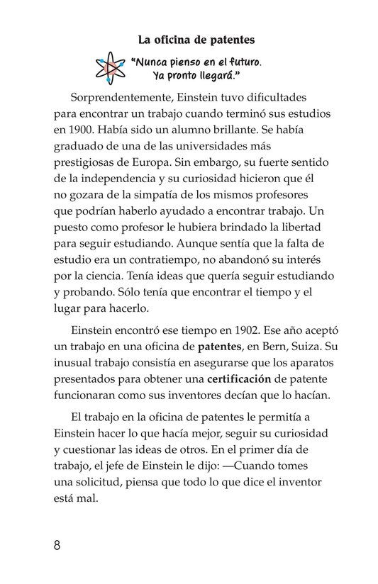 Book Preview For Albert Einstein Page 8