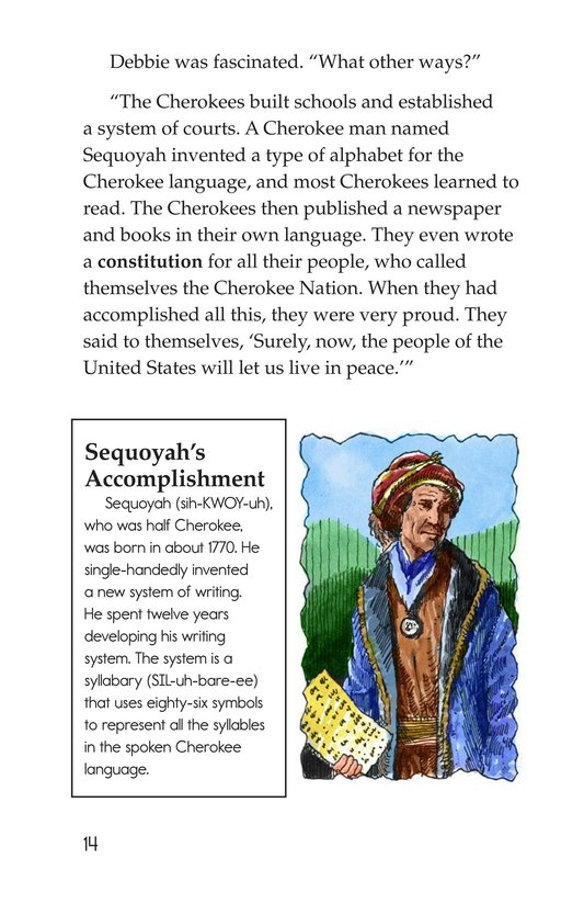 Book Preview For The Cherokees Page 14