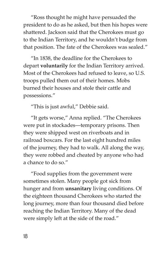 Book Preview For The Cherokees Page 18