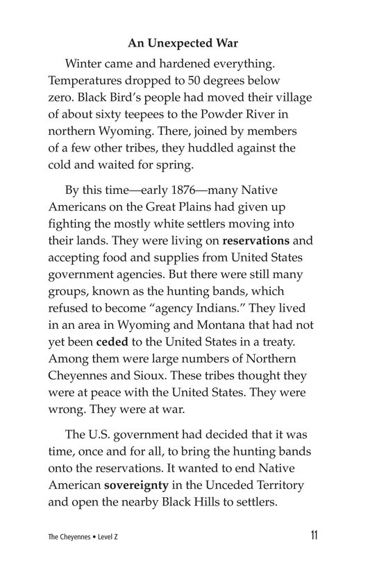 Book Preview For The Cheyennes Page 11