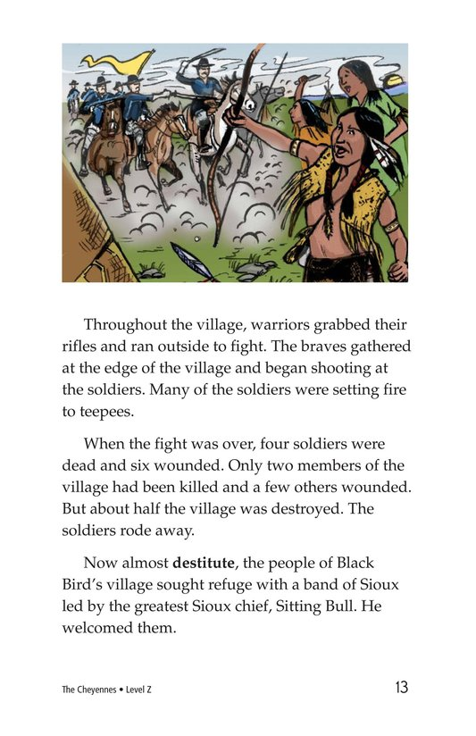 Book Preview For The Cheyennes Page 13