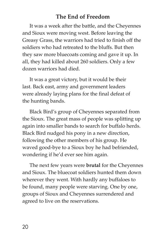 Book Preview For The Cheyennes Page 20