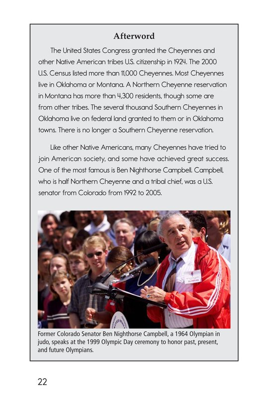 Book Preview For The Cheyennes Page 22