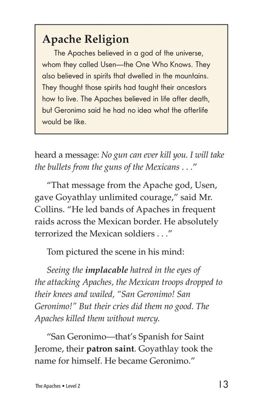Book Preview For The Apaches Page 13