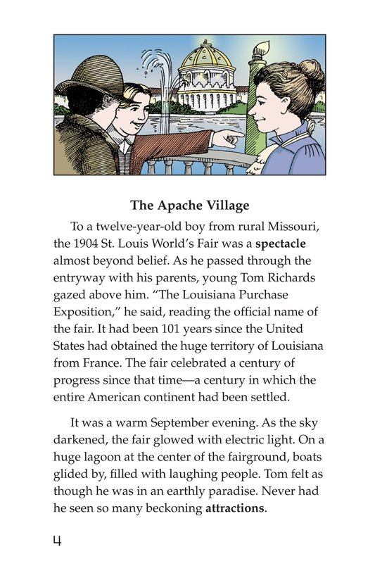 Book Preview For The Apaches Page 4