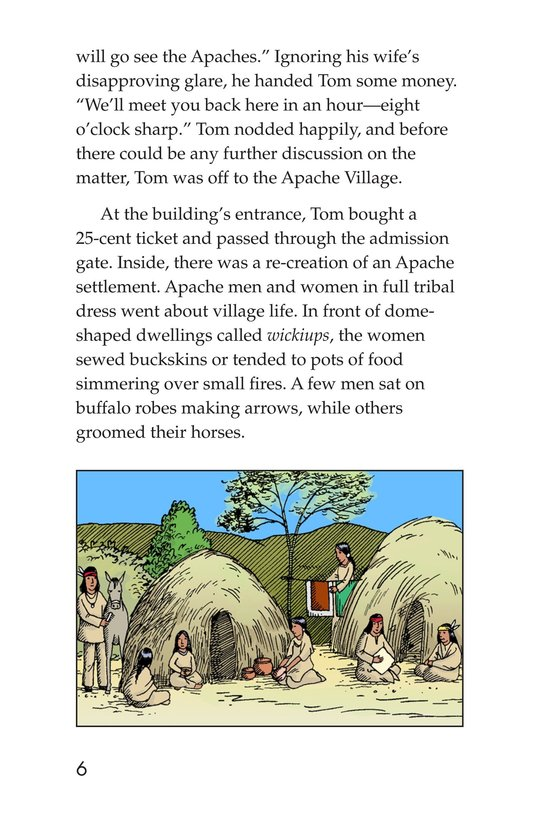 Book Preview For The Apaches Page 6