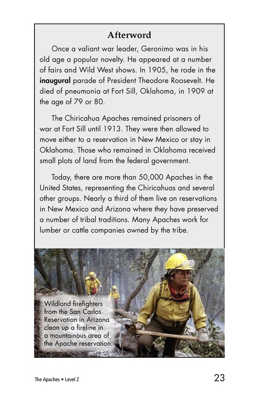 Book Preview For The Apaches Page 23