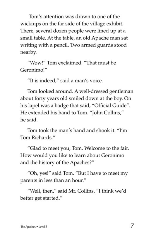 Book Preview For The Apaches Page 7