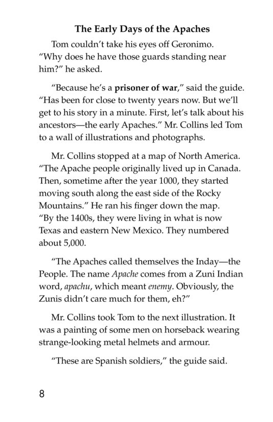 Book Preview For The Apaches Page 8