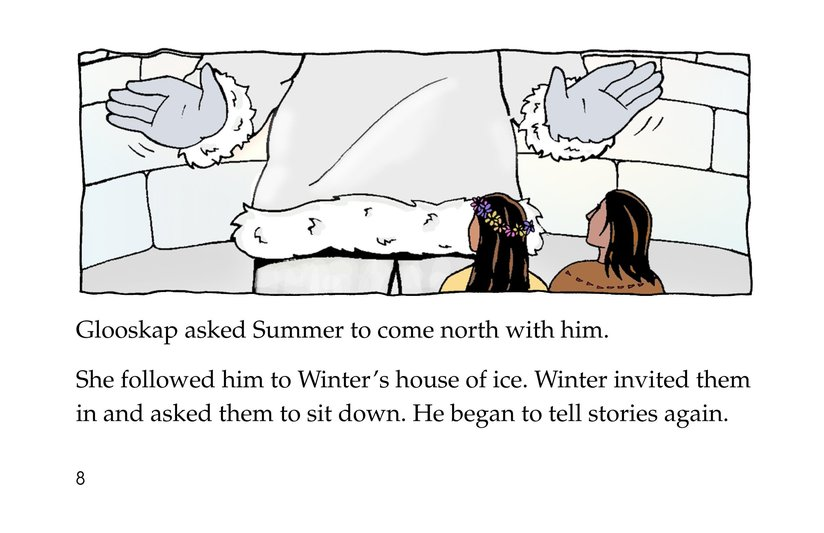 Book Preview For How Glooskap Found Summer Page 8