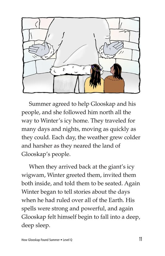 Book Preview For How Glooskap Found Summer Page 11